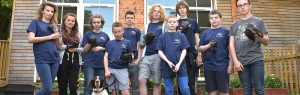 Youth Ambassadors tackle the dog poo issue!
