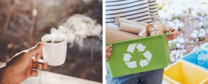 Saturday Café & recycling workshop