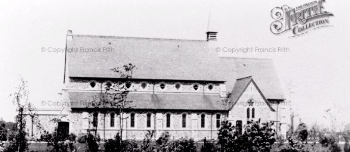 Graylingwell Chapel old photo