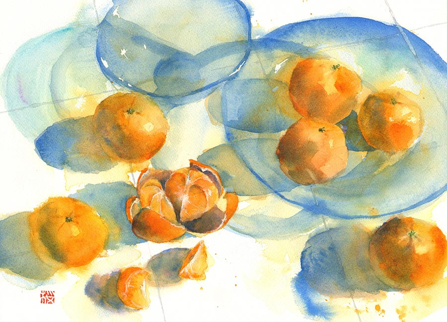 watercolour classes at CCDT