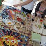 Mosaic workshop Youth Club