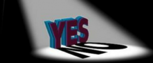 Saturday Café EXTRA - 'Yes and No' @ the Lodge