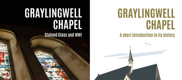 Cover pages of new Graylingwell Chapel booklets