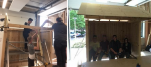 Students build shelter for residents