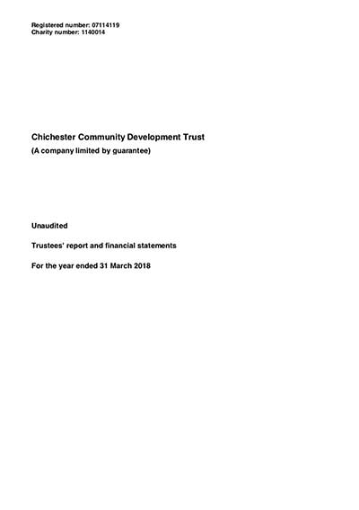 CCDT Financial Report