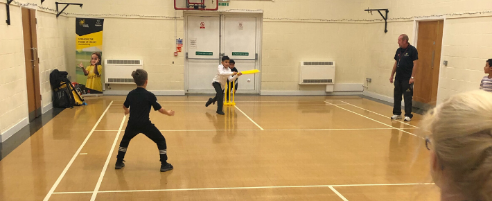 Street cricket hits it for six at new free weekly sessions