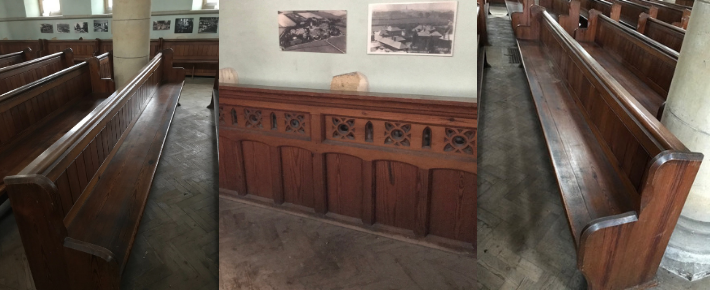 Charity Auction of the Graylingwell Chapel Pews