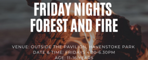 Friday Nights, Forest & Fire @ The Pavilion