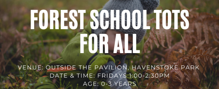 Forest School Tots for all