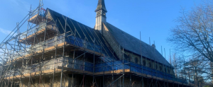Raising the roof of Graylingwell Chapel