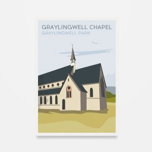 Graylingwell Chapel Postcard