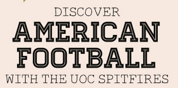 You are currently viewing Discover American Football with the Spitfires YR-Y6